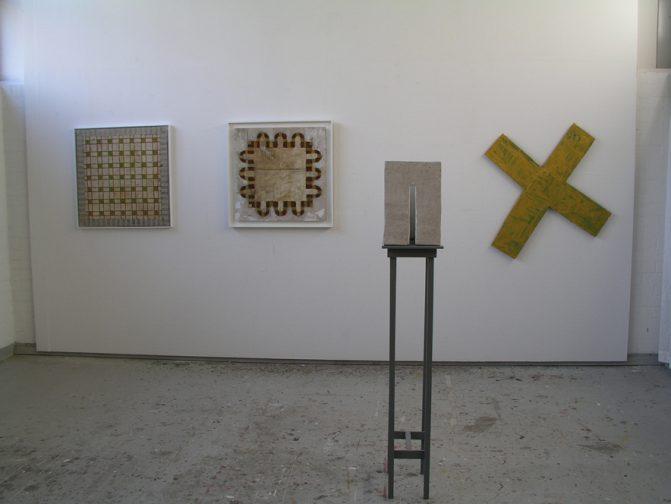 """""""De stad nu was vierkant, haar lengte en breedte gelijk…"""" atelierexpositie 27 november – 05 december 2004"""