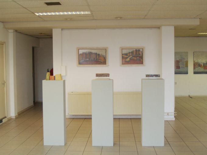 """""""Naar aanleiding van het Mikwe"""" Expositieruimte Maaskade Venlo 28 november – 31 december 2009"""