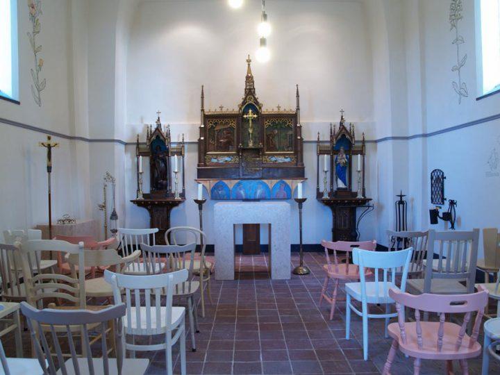Antonius Abt kapel Heukelom (NL) nieuwe inrichting 2012