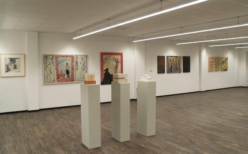 """""""35 jaar beeldende kunst, een overzicht"""" Pop-up tentoonstellingsruimte Grote Beekstraat Venlo 10 september - 08 oktober 2017"""